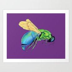 Bee Strong 2 Art Print