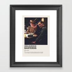 Inglourious Basterds Framed Art Print