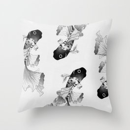 Betta Fish Throw Pillow