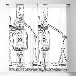 Laboratory poison Blackout Curtain
