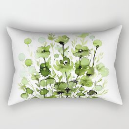 Floral Charm No.1I by Kathy Morton Stanion Rectangular Pillow