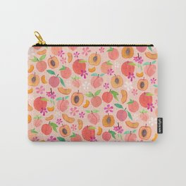Apricot, Nectarine, & Peaches Carry-All Pouch