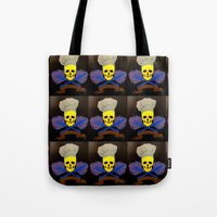 chef Tote Bags featuring chef by Albano Juliano