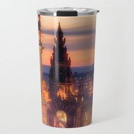 CLOCK TOWER-EDINBURGH Travel Mug