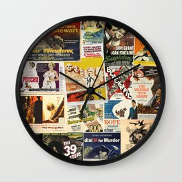 Alfred Hitchcock 2 Wall Clock