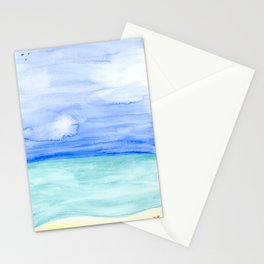 Zen Beach Stationery Cards