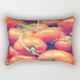 Red On The Vine Rectangular Pillow