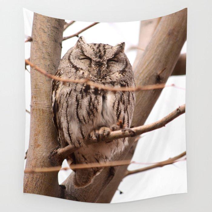 Wild Owl - Ivins, Utah Wall Tapestry