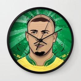 Football Legends: Ronaldo R9 Brasil  Wall Clock