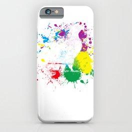Colourful Eagle iPhone Case