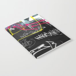 New York Traces - Urban Graffiti Notebook