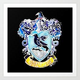 Ravenclaw Crest Art Print