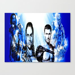 Gladiators Into the Afterlife Canvas Print
