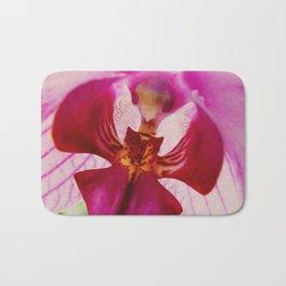 Close up Orchid #2 Bath Mat