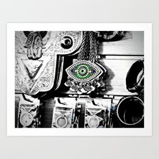 All Seeing Eye Art Print