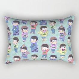 The Sextuplets Rectangular Pillow