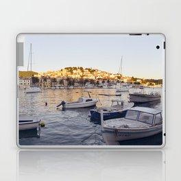 Hvar - panoramic view Laptop & iPad Skin