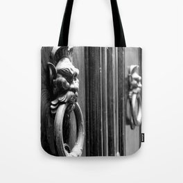 Knockin' at the Door Tote Bag