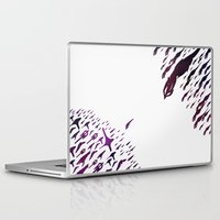 mass effect Laptop & iPad Skins featuring Mass Effect 100% Readiness by Fabio Castro