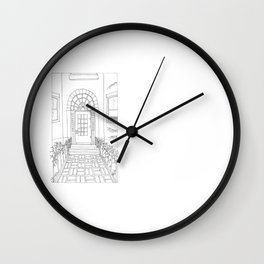 Newbury Street Wall Clock