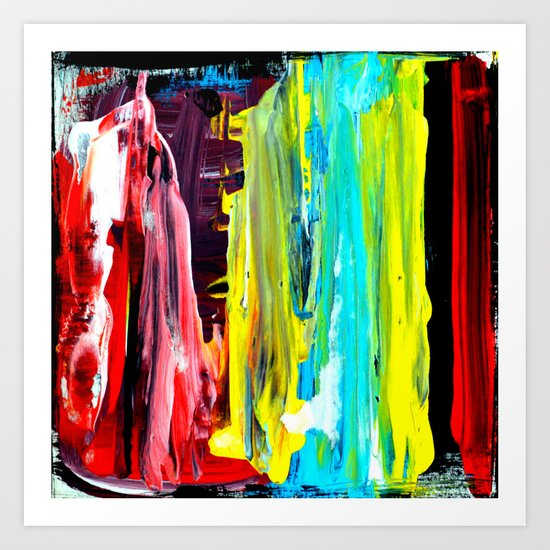 Color Abstract 2 Art Print
