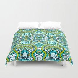 Gren Boho Pattern Duvet Cover