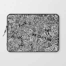 LOOK AT ALL THE FUCKS YOU DO NOT GIVE Laptop Sleeve