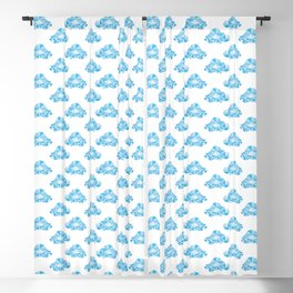 Diamond Clouds in the Sky Pattern Blackout Curtain