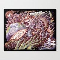revolution Canvas Prints featuring Revolution by Jeremy Kiraly