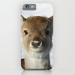 Fae the fawn iPhone Case