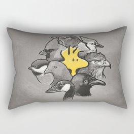 Birdies! Rectangular Pillow