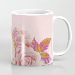 composition florale en rose Coffee Mug