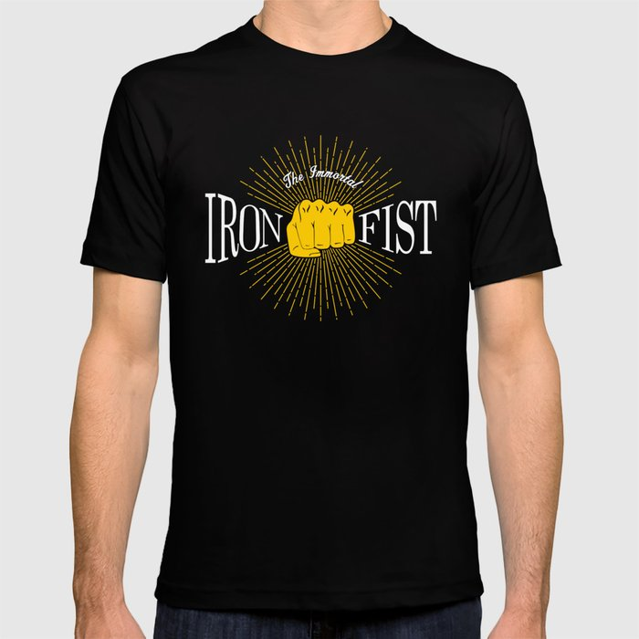 The Immortal Iron Fist Vintage Style T-shirt