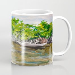 Florida Mangrove Tea Water in the Everglades Coffee Mug
