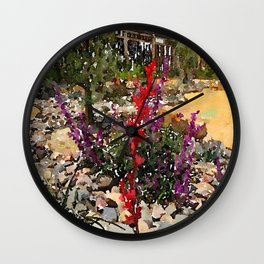 California Lawn Wall Clock