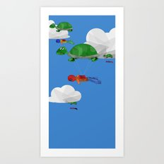 Paraturtle Art Print