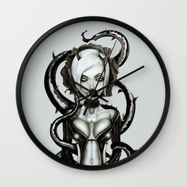 The Flower of Carnage Wall Clock