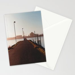Fishing Dock-Film Camera Stationery Cards