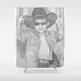 Howdy Pardner Shower Curtain