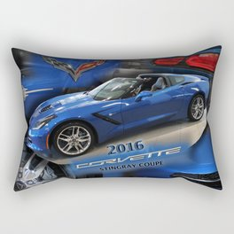 2016 Corvette Stingray Coupe Rectangular Pillow