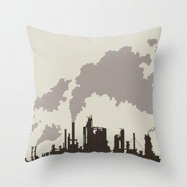 Spewscape Throw Pillow