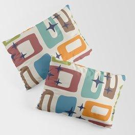 Retro Mid Century Modern Abstract Pattern 224 Pillow Sham