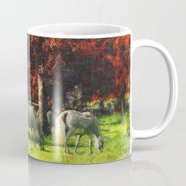 White Horse Lipizaners - Slovenia Coffee Mug