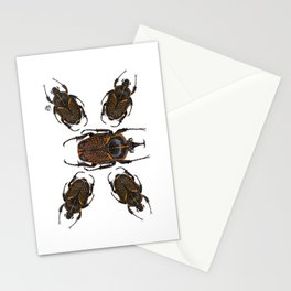 Goliath Flower Beetle Stationery Cards