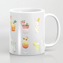 Classic Watercolor Cocktails Drinks Coffee Mug
