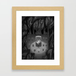 The Great Werewolf Awakens Framed Art Print