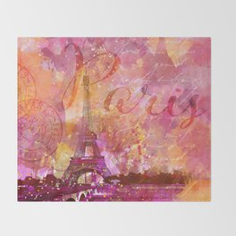 If you love Paris Throw Blanket