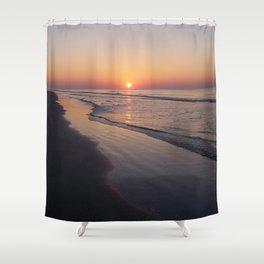 Sunrise Over The Atlantic Ocean Shower Curtain