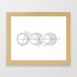 Thursday No. 2 Framed Art Print