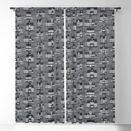 Haunted Houses Blackout Curtain